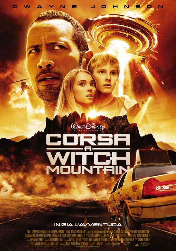 Locandina italiana di Corsa a Witch Mountain
