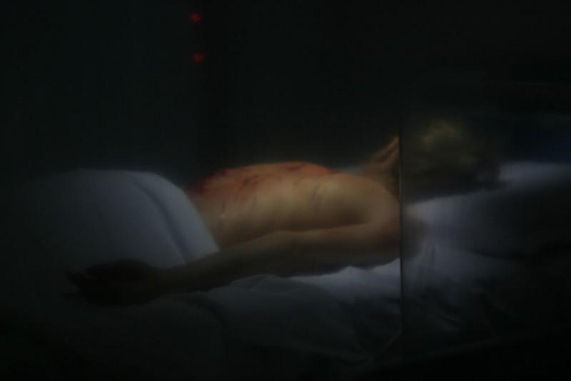 Un'inquietante immagine del film Visions