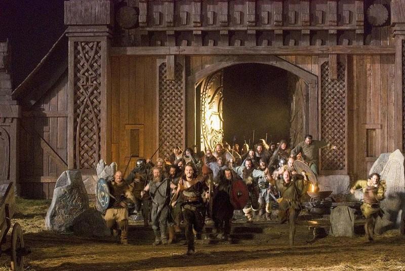 Una scena di Outlander