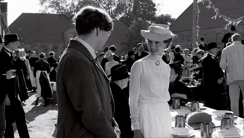 Una sequenza del film Il nastro bianco (Das Weiße Band, 2009) diretto da Michael Haneke