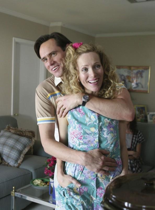 Jim Carrey e Leslie Mann in una scena del film I Love You Phillip Morris