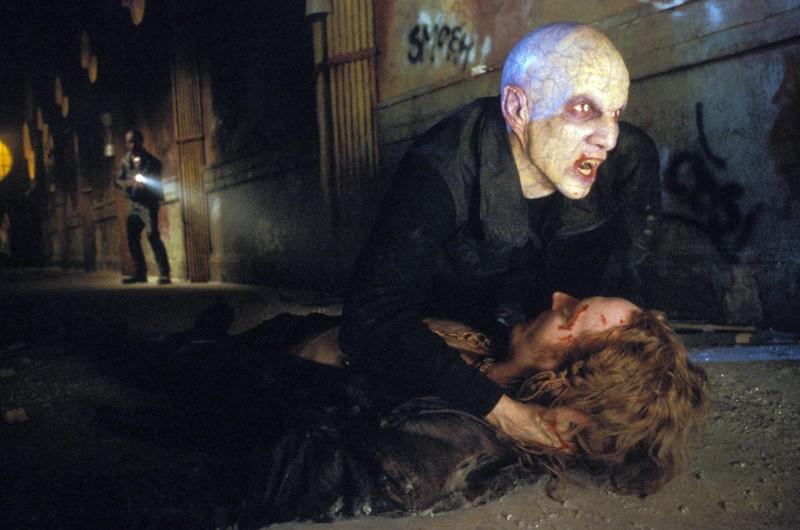Luke Goss in una scena del film 'Blade II'