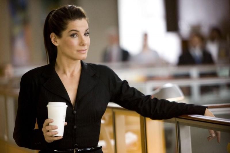Sandra Bullock in una scena del film Ricatto d'amore