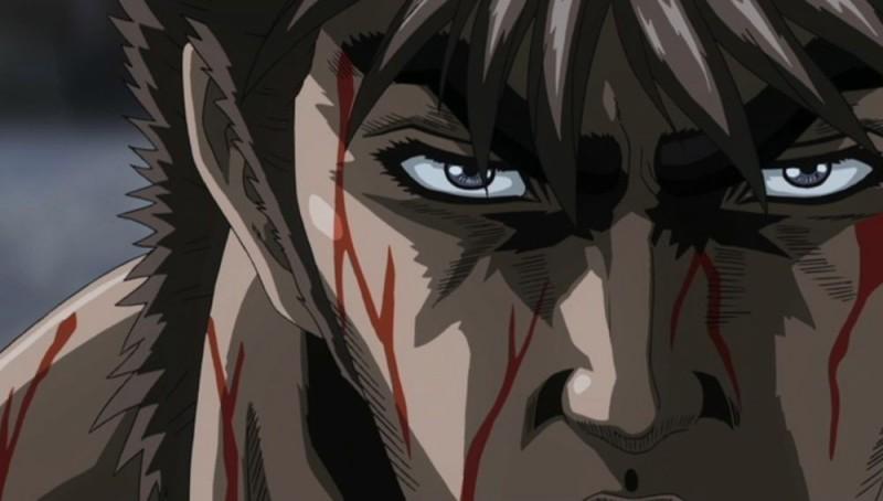 Un'immagine del protagonista di Ken il guerriero - La leggenda di Raoul