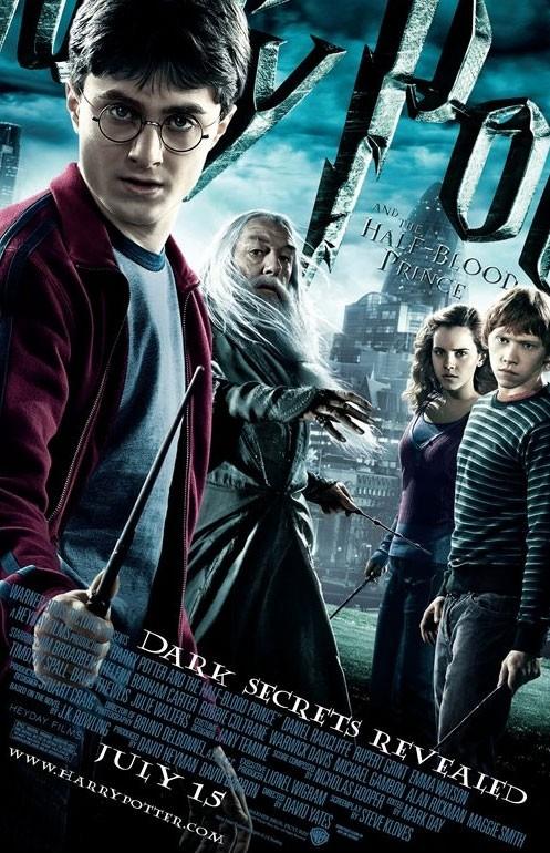 Un nuovo manifesto internazionale per Harry Potter e il principe mezzosangue