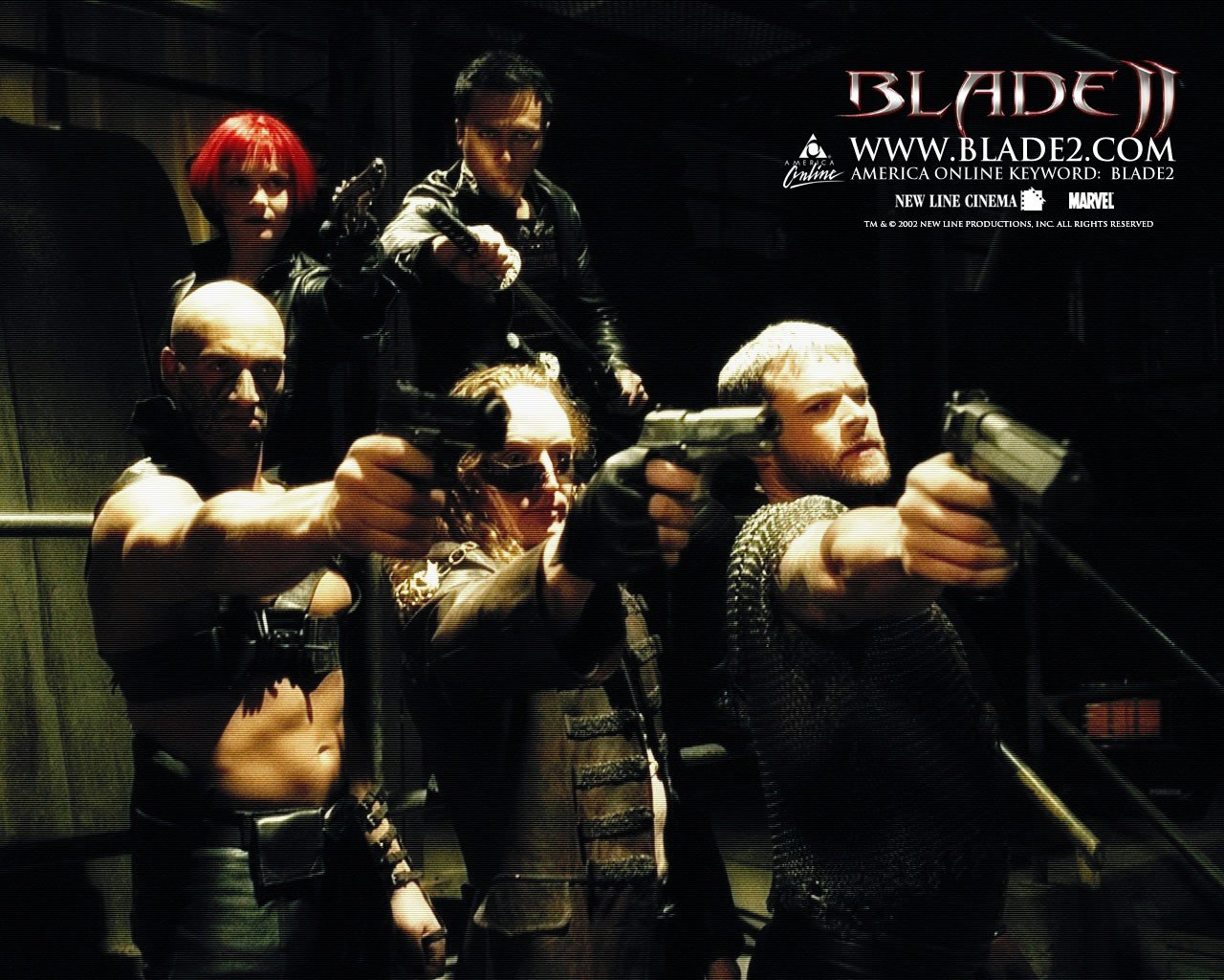 Un wallpaper del film Blade II