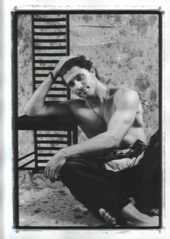 Foto di Lea Zalco - Giuseppe Morrone a torso nudo