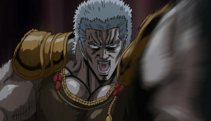 Una scena del film d'animazione Ken il guerriero - La leggenda di Raoul