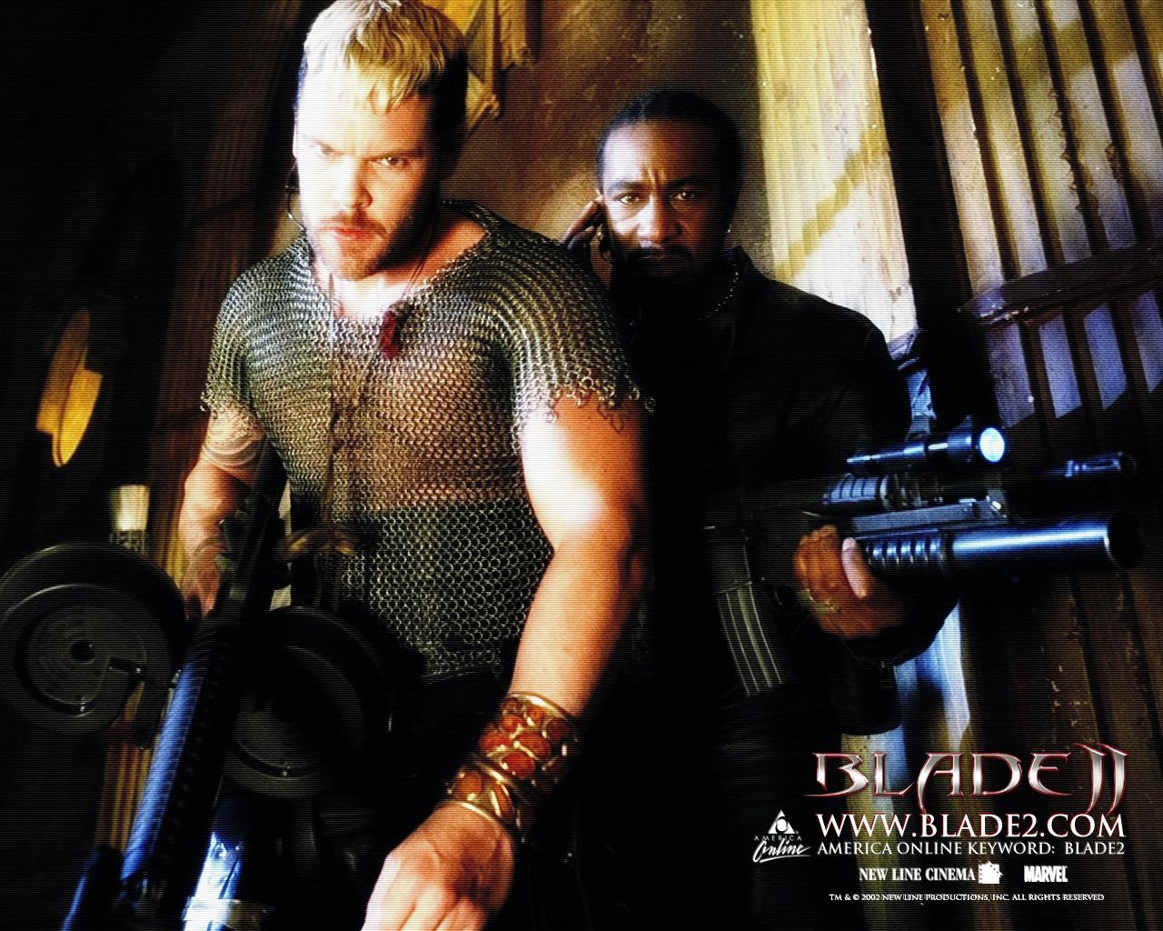 Wallpaper di Danny Matt Schulze e John Jules del film 'Blade II'