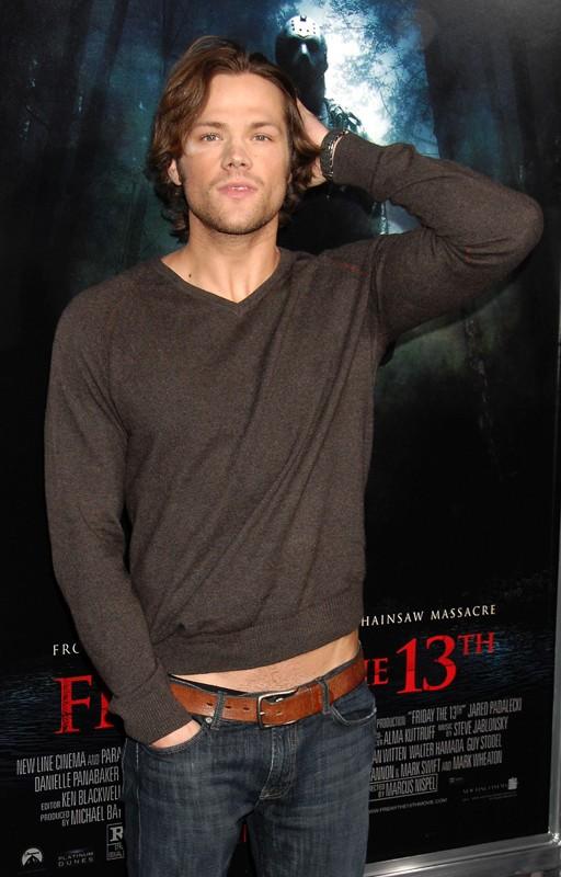 Jared Padalecki alla premiere del film 'Friday the 13th' del 2009