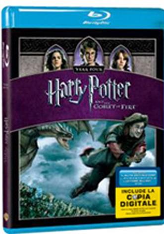 La copertina di Harry potter e il calice di fuoco (blu-ray)