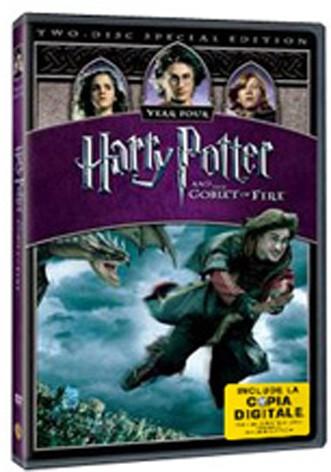 La copertina di Harry potter e il calice di fuoco (con copia digitale) (dvd)
