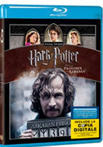 La copertina di Harry potter e il prigioniero di Azkaban (con copia digitale) (blu-ray)