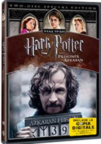 La copertina di Harry potter e il prigioniero di Azkaban (con copia digitale) (dvd)