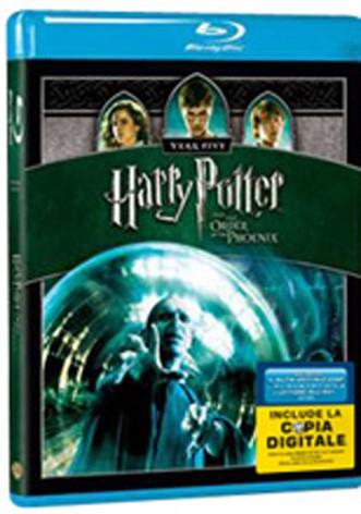 La copertina di Harry Potter e l'Ordine della Fenice (blu-ray)