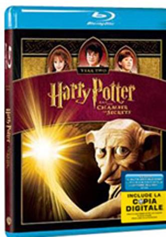 La copertina di Harry Potter e la camera dei segreti (blu-ray)