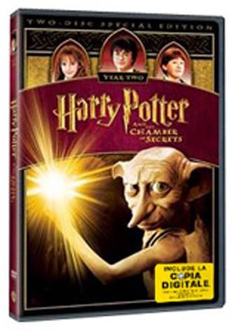 La copertina di Harry potter e la camera dei segreti (con copia digitale) (dvd)