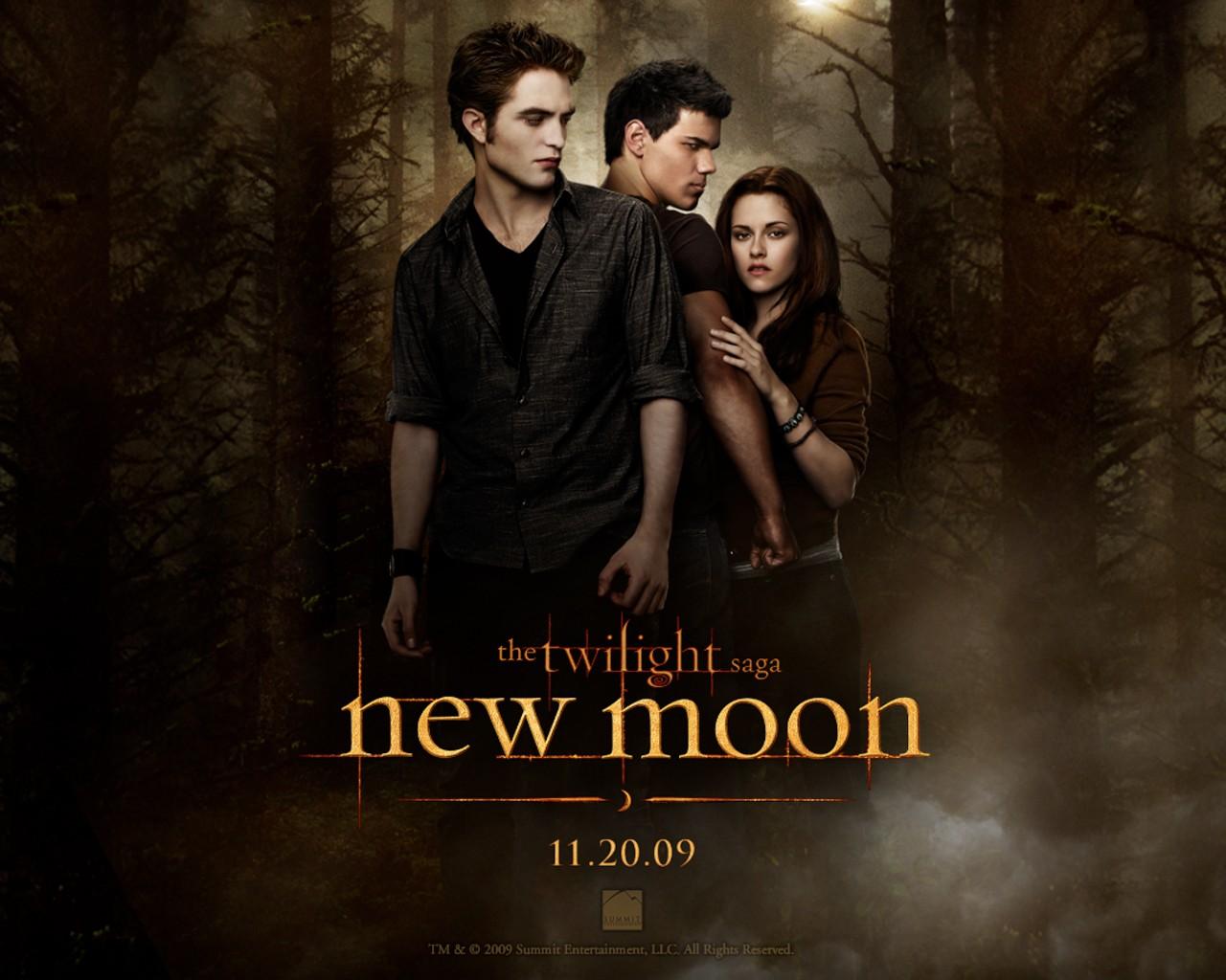Primo wallpaper ufficiale di 'Twilight: New Moon'