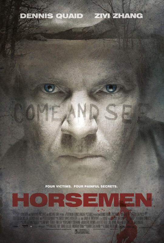 Una locandina del film  The Horsemen