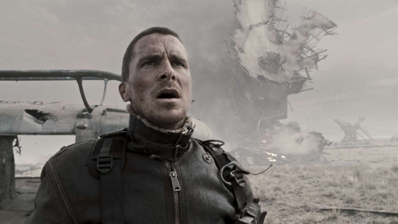 Christian Bale è John Connor nel film Terminator Salvation