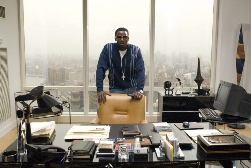 Derek Luke in una scena del film Notorious