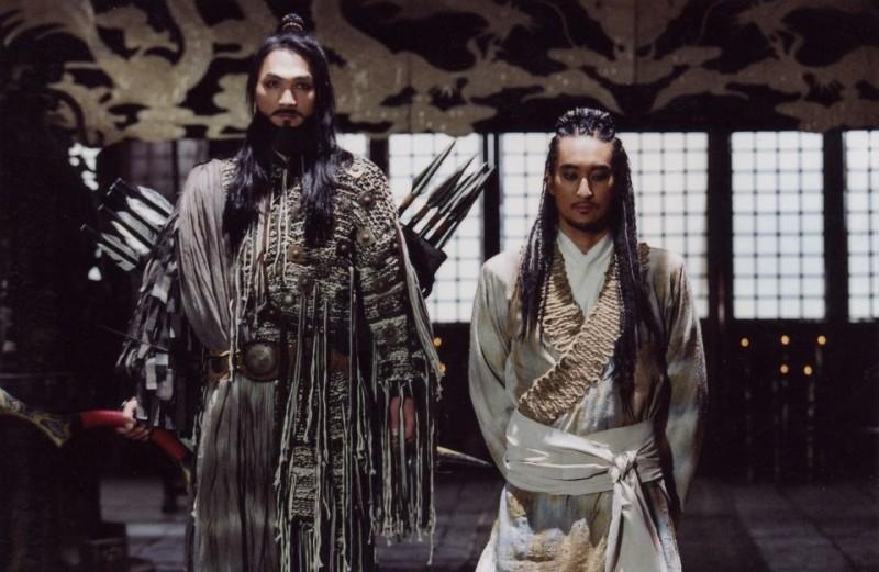 Shin Hyeon-jun in una scena del film Il potere della spada