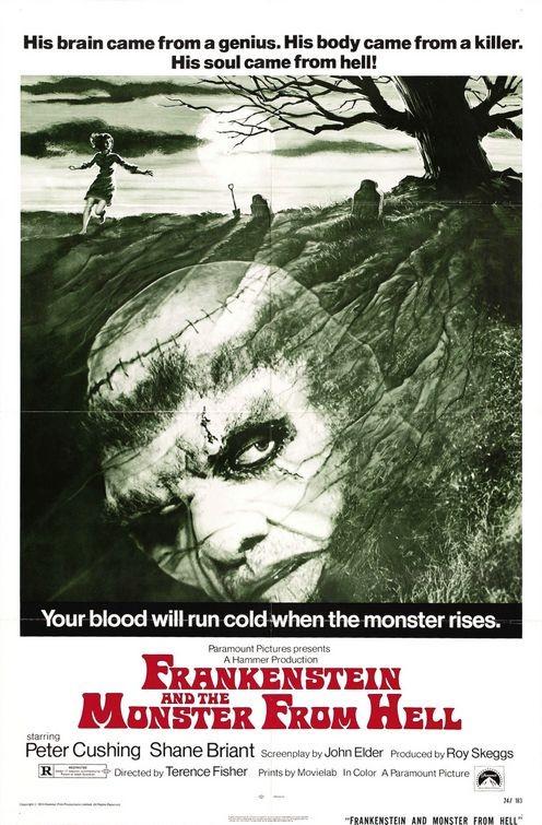 Il poster di La creatura di Frankenstein
