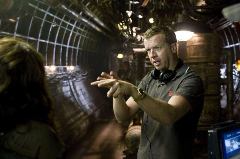 Il regista McG sul set del film Terminator Salvation