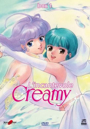 La copertina di L'incantevole Creamy - Box 1 (dvd)