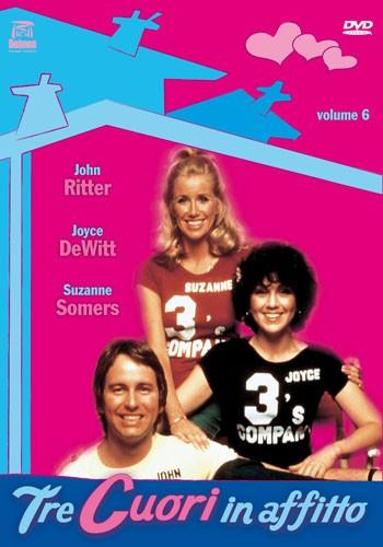 La copertina di Tre cuori in affitto (dvd)