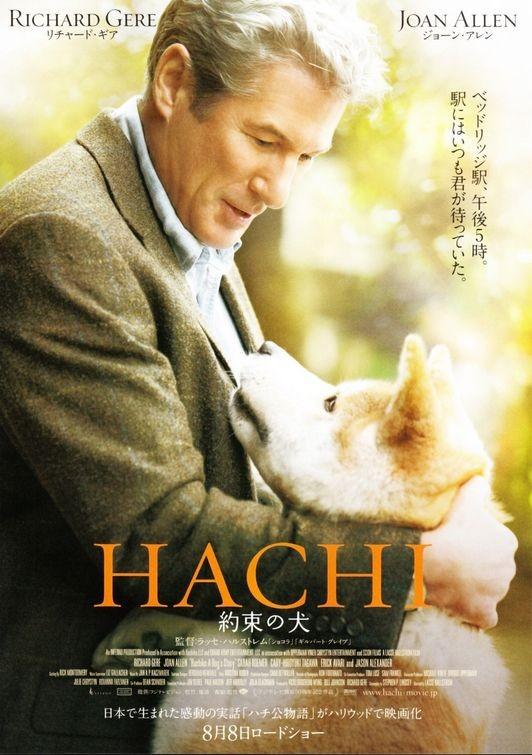 La locandina di Hachiko, una storia d'amore