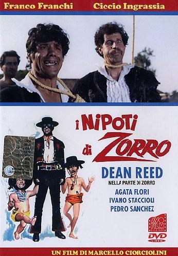 La locandina di I nipoti di Zorro