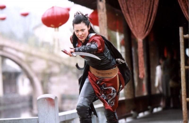 Lee Ki-yong in una scena del film Il potere della spada