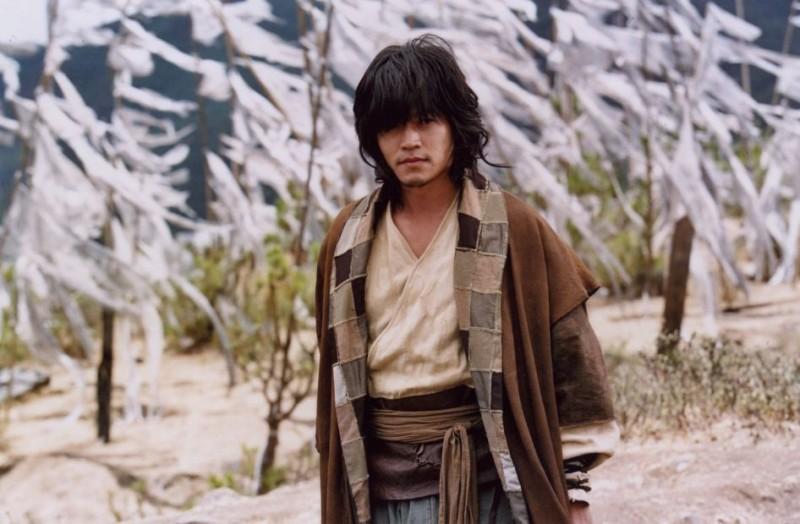 Lee Seo-jin in un'immagine del film Il potere della spada
