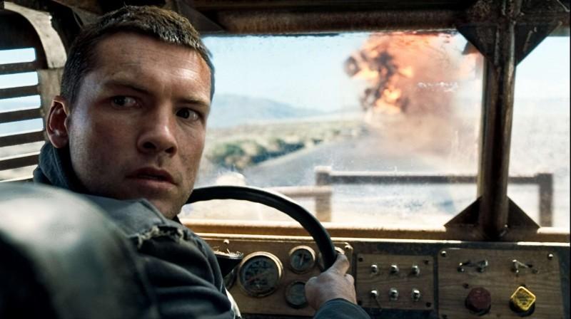 Sam Worthington è Marcuc Wright nel film Terminator Salvation