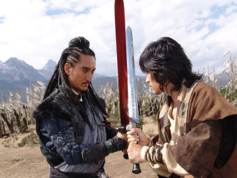 Shin Hyeon-jun in una scena de Il potere della spada