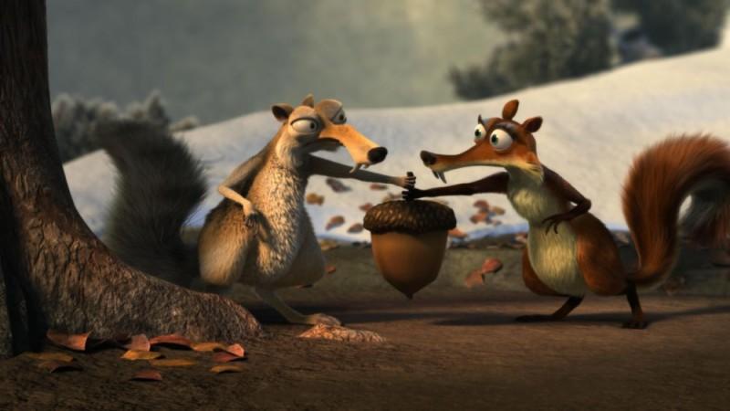Un'immagine del film L'era glaciale 3 - L'alba dei dinosauri
