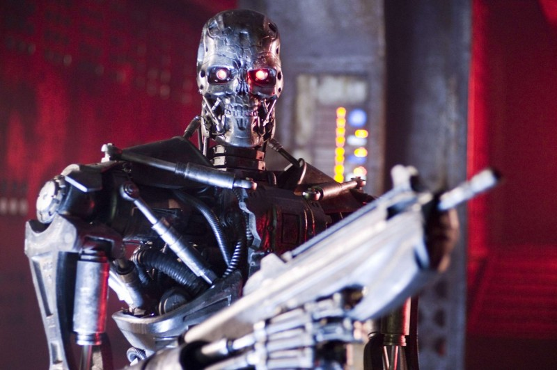 Un T-600 in un'immagine del film Terminator Salvation