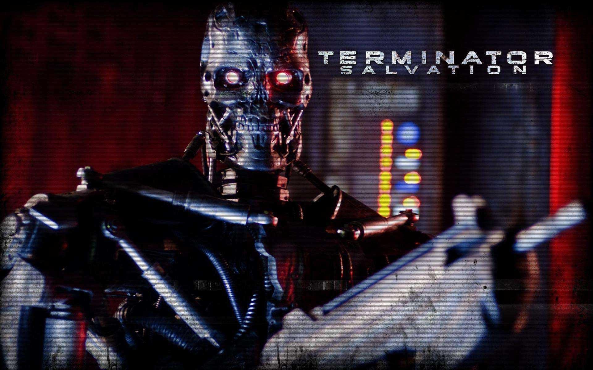 Un wallpaper di Terminator Salvation