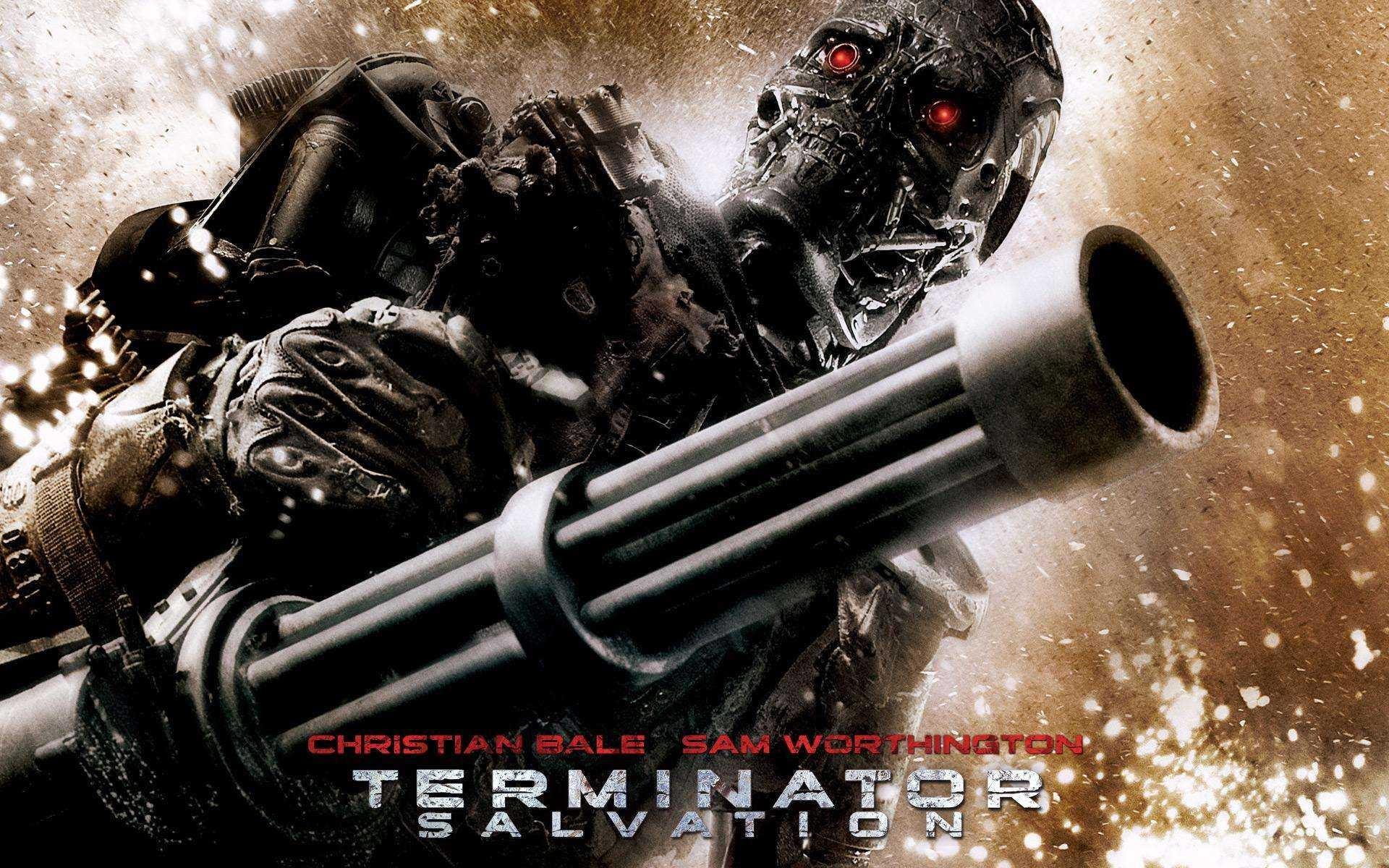 Wallpaper del film Terminator Salvation