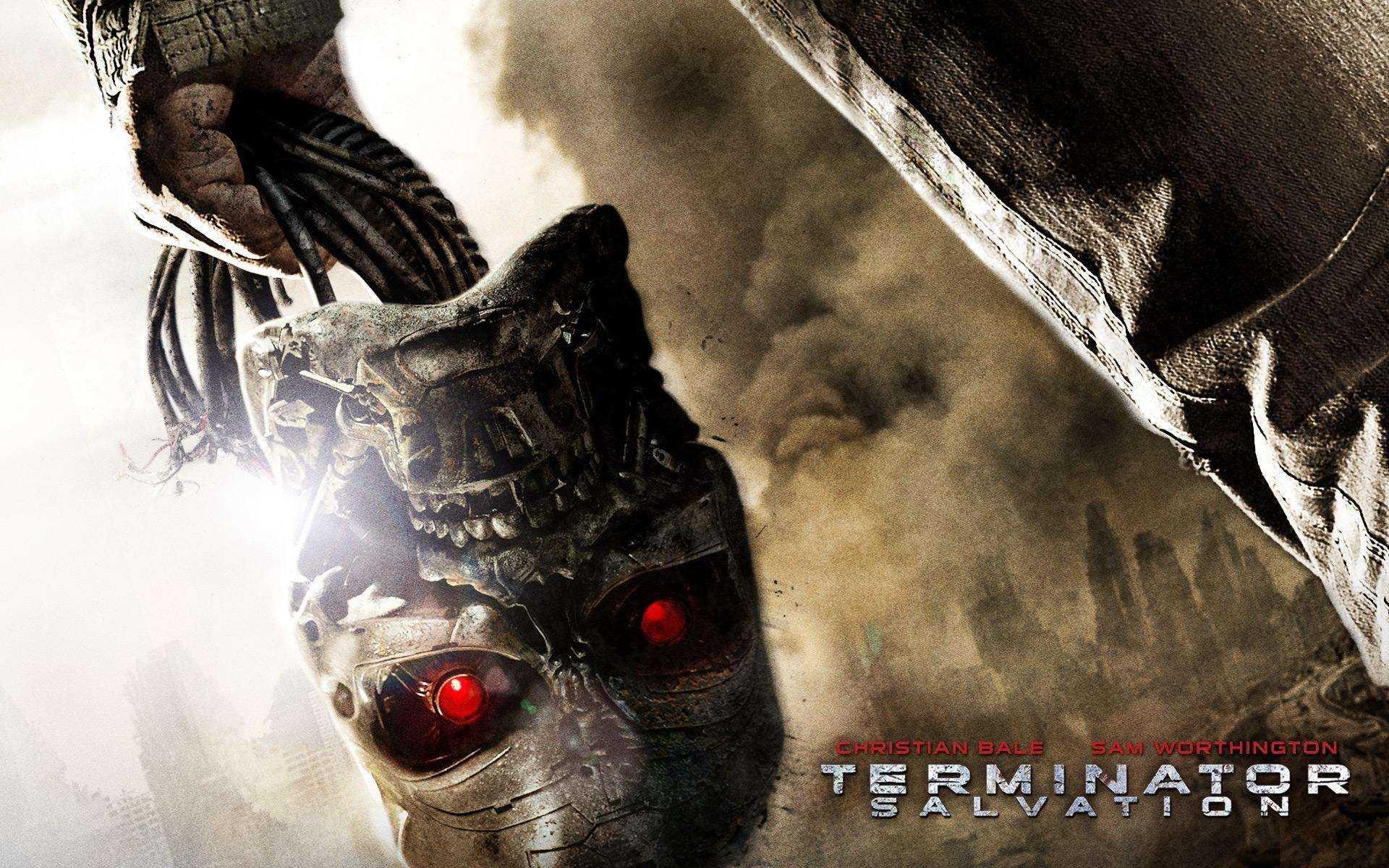 Wallpaper del film Terminator Salvation diretto da McG