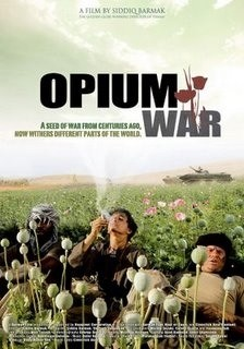 La locandina di Opium War