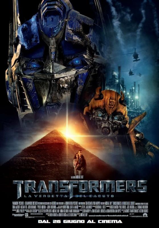 Locandina italiana di Transformers - La vendetta del caduto