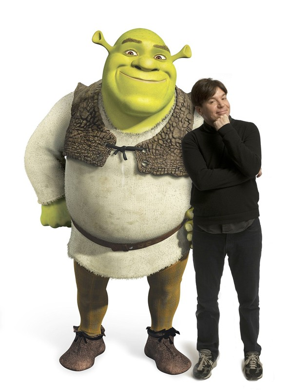 Mike Myers è il doppiatore dell'orco Shrek nel film 'Shrek the Third'