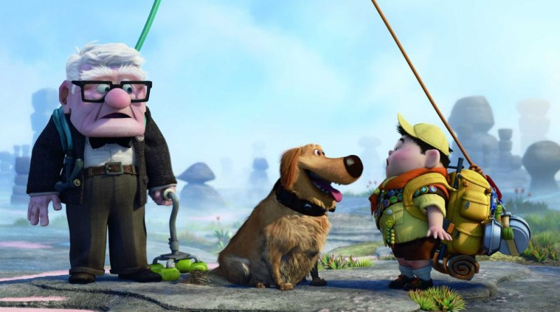 Un immagine del film up la nuova meraviglia della pixar