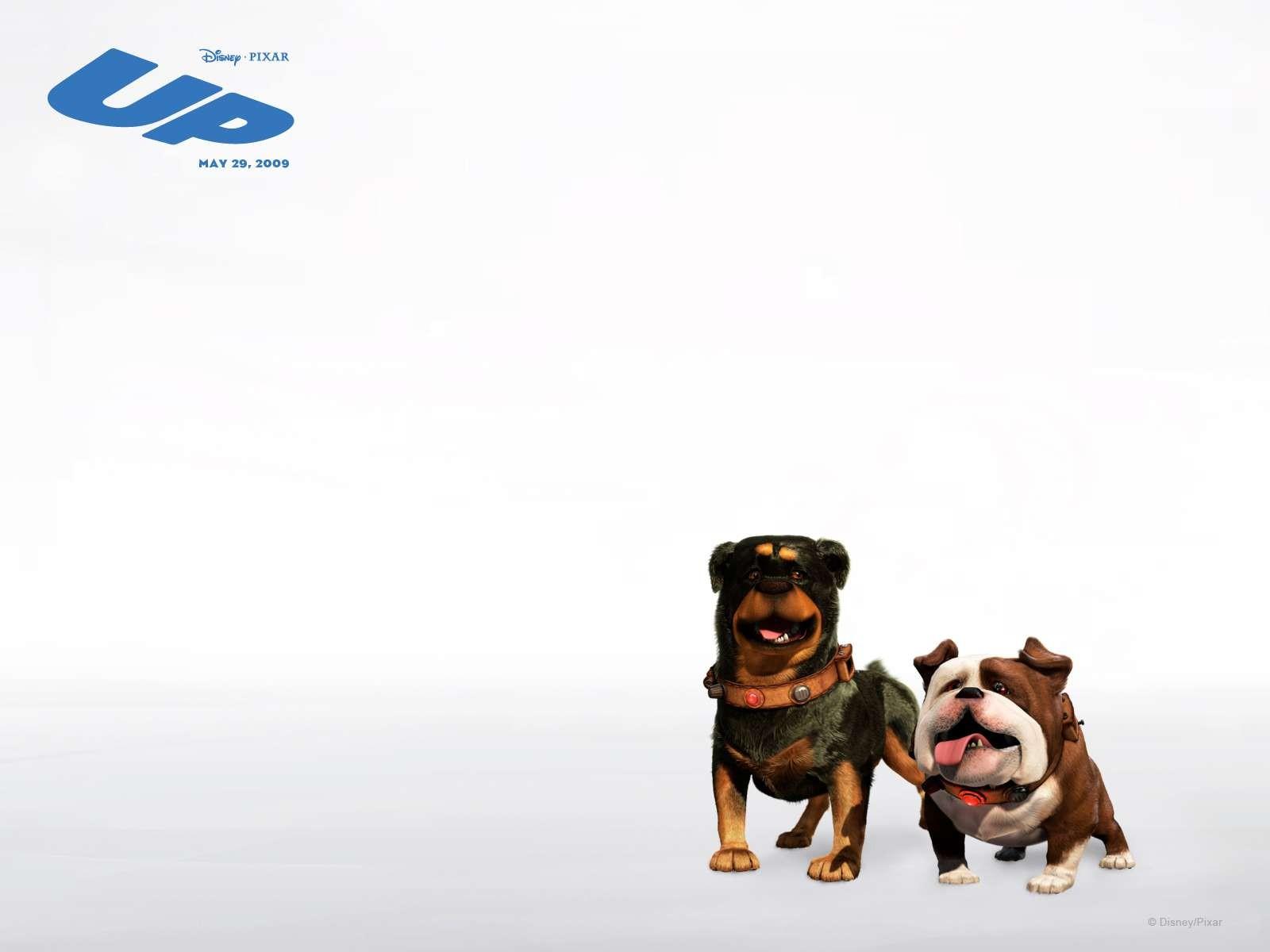 Un wallpaper del film d'animazione Up