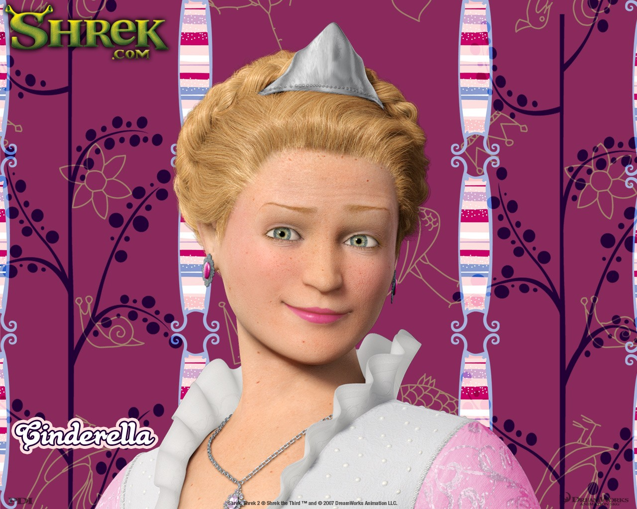 Un wallpaper di Cenerentola(Cinderella) per il film 'Shrek Terzo'