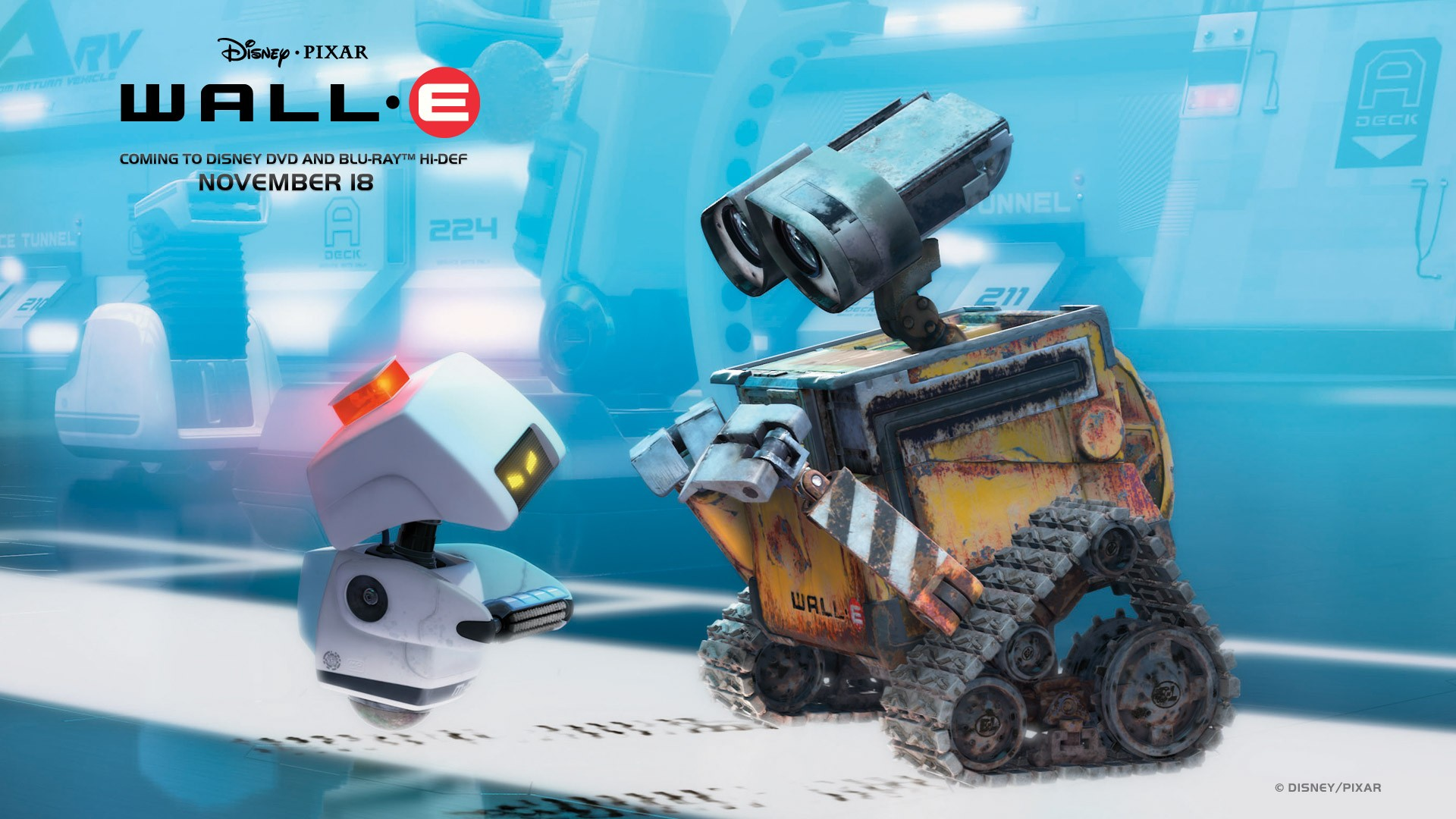 Un wallpaper di Wall-E