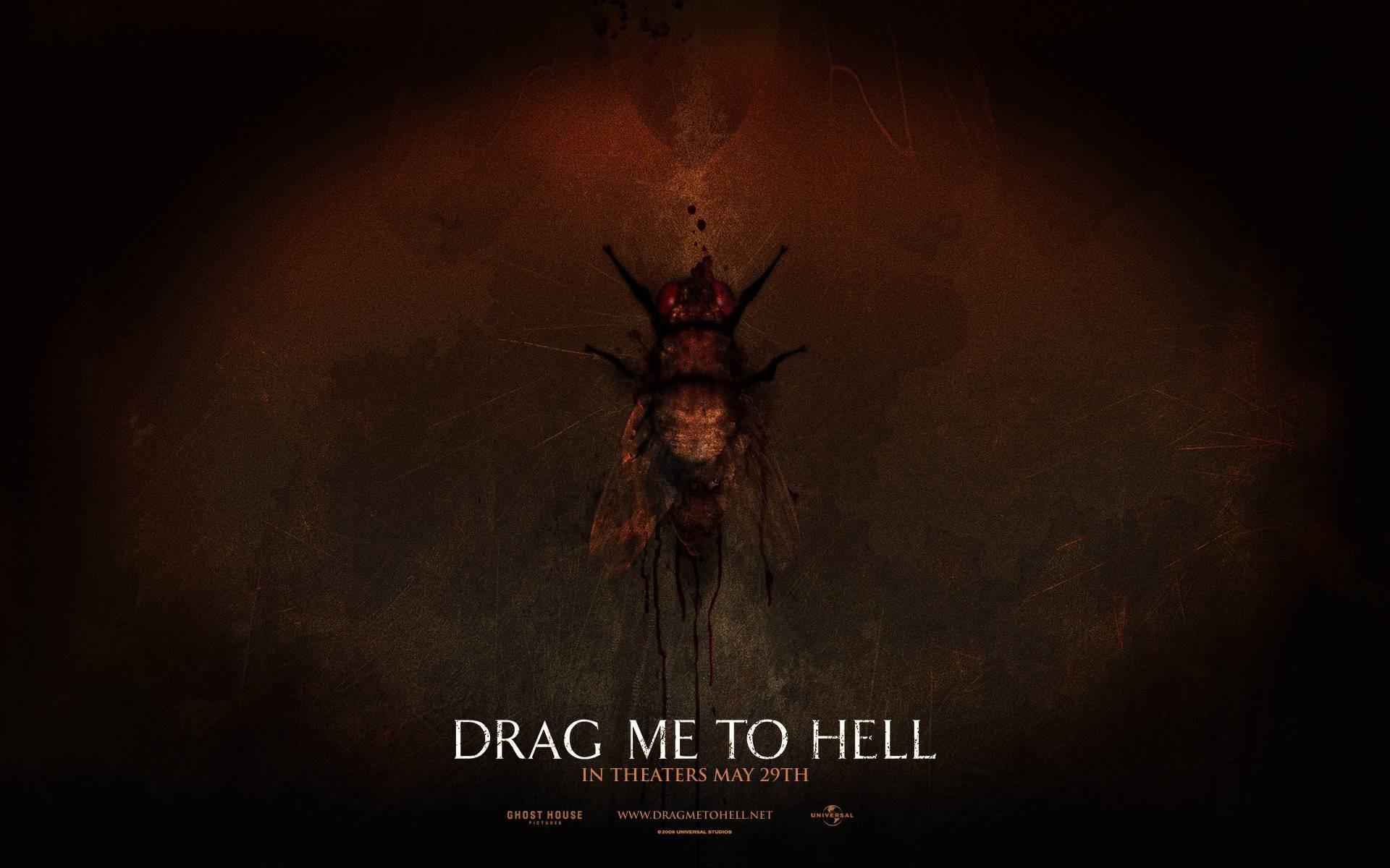 Wallpaper del film horror Drag Me to Hell