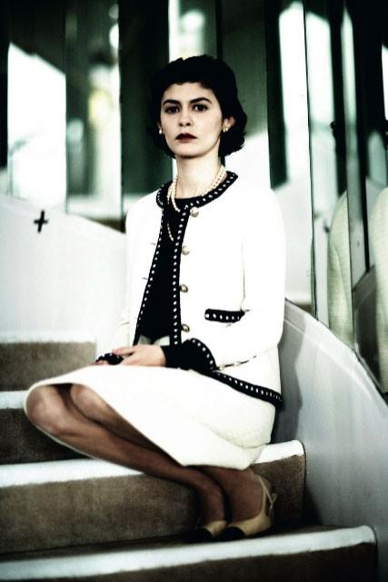 Audrey Tautou in un'immagine di Coco avant Chanel - L'amore prima del mito